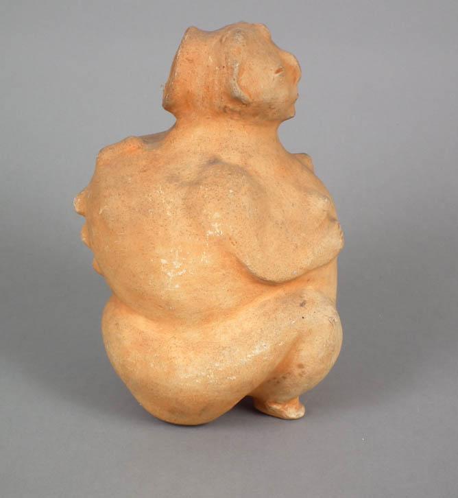 Figural vessel