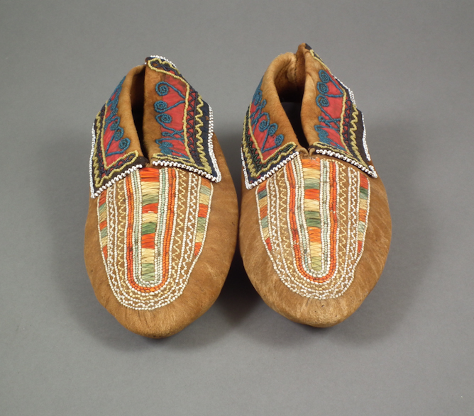 Pair of moccasins