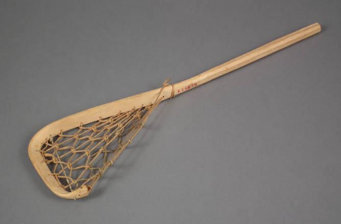 Model lacrosse stick