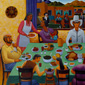 Pueblo Feast Day / Painting