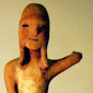 Haniwa figure of a young man