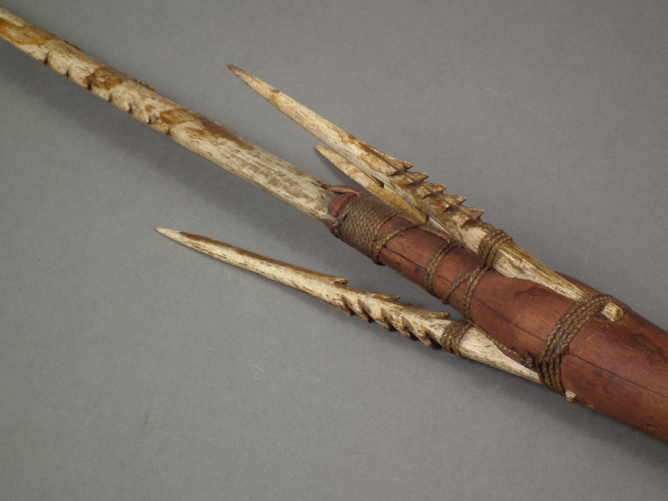 Peabody essex museum explore art for Fishing spears for sale