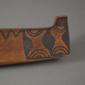 Model canoe