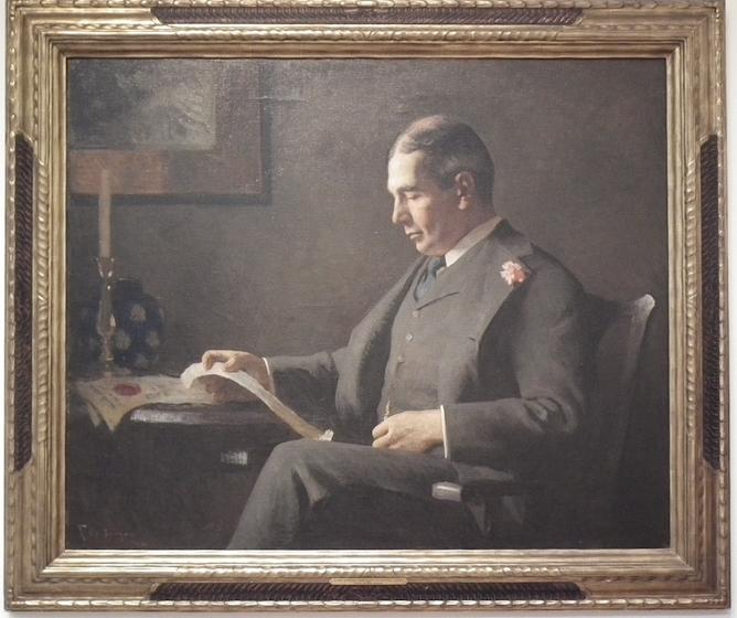Portrait of Richard Saltonstall
