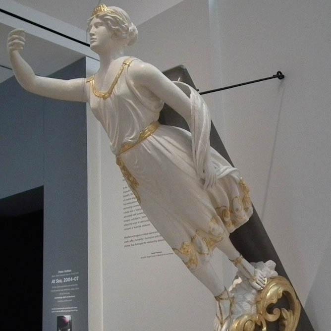 Figurehead from Ship Galatea