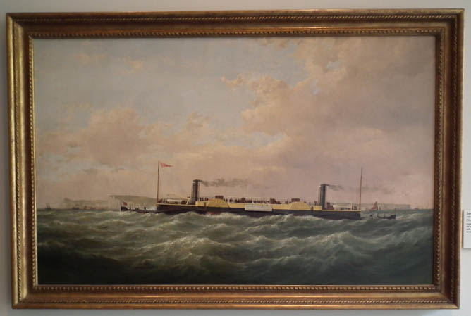 Double Paddle Steamer Bessemer