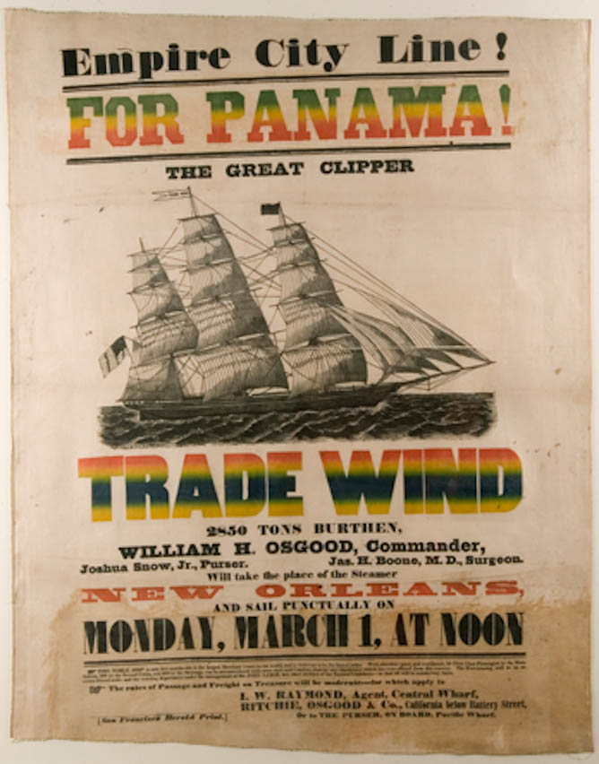 Great Clipper Trade Wind for Panama