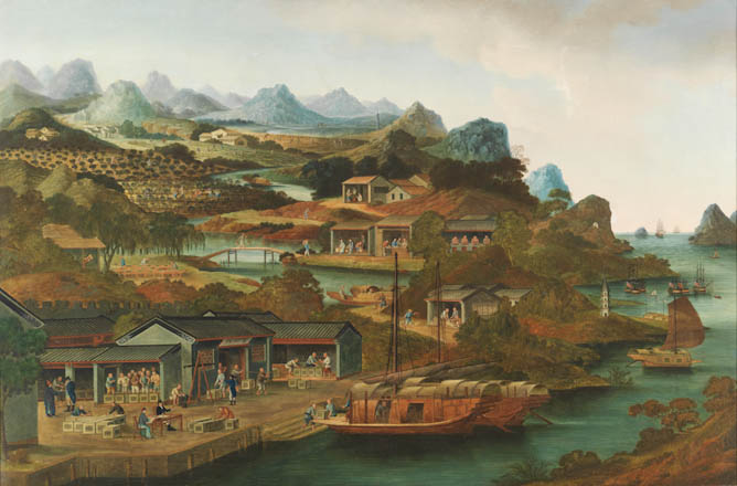 Tea Production in China, 1790-1820