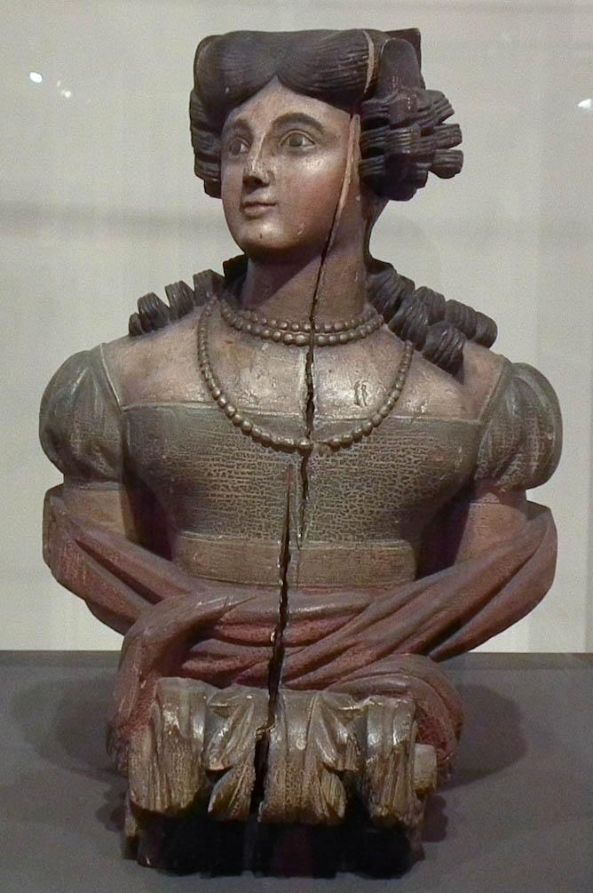 Figurehead of Young Woman