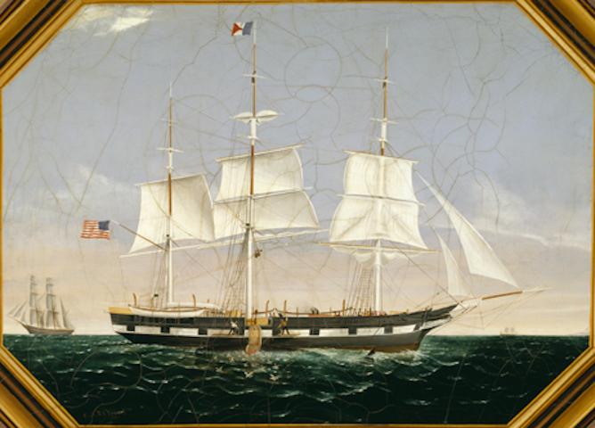 Ship Eliza Adams