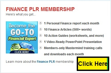 PLR.me finance plr membership
