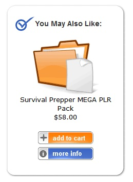 PLR Mini Mart Survival Preper PLR