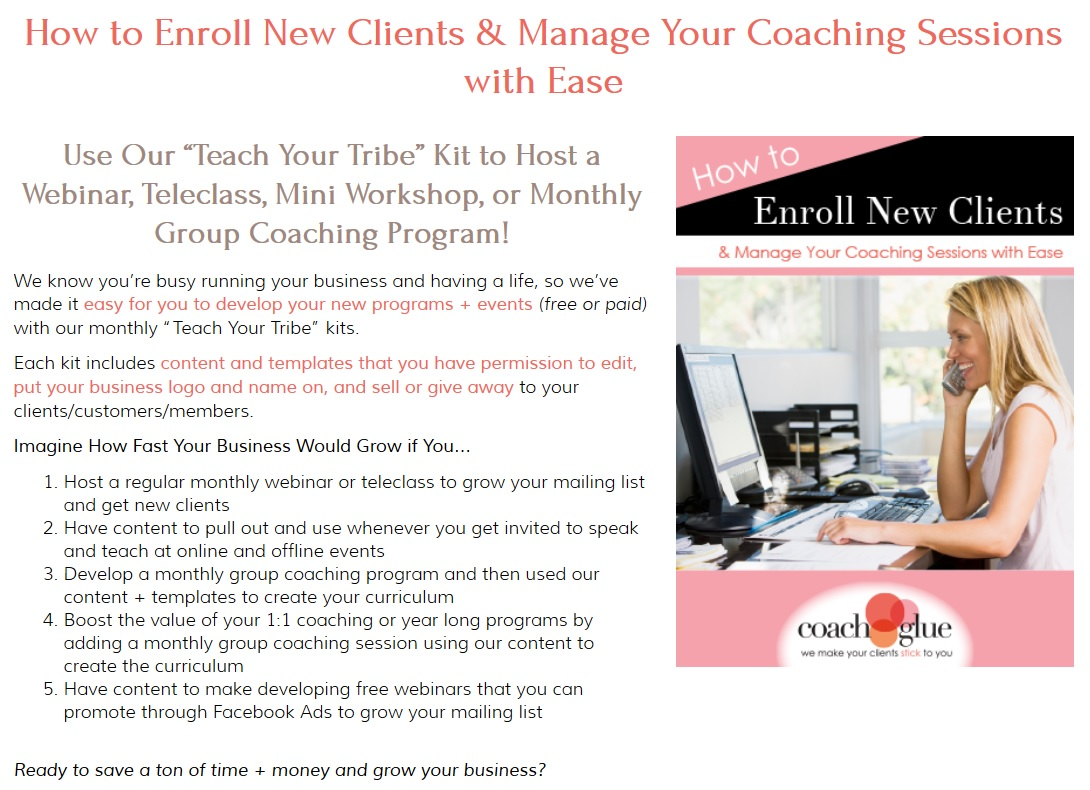 enroll new clients