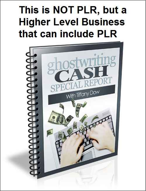 ghostwriting cash special report