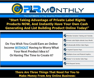 PLRmonthly membership