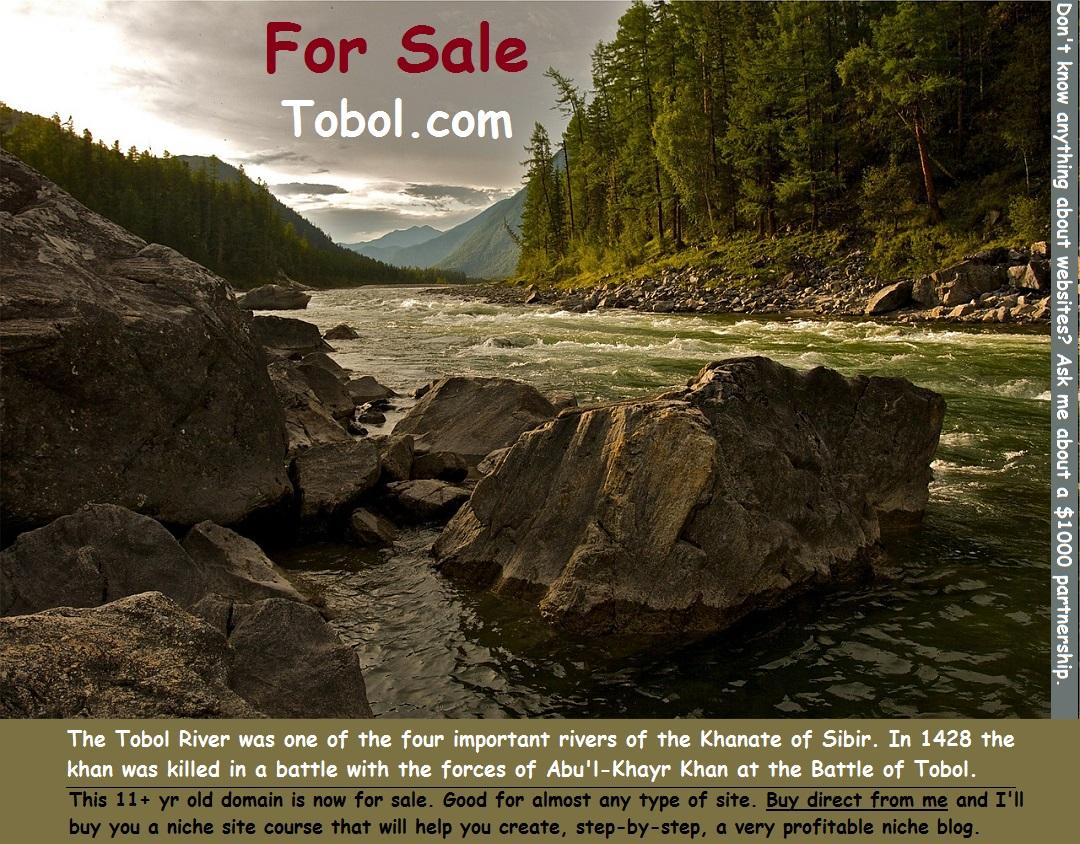 Tobol.com For Sale