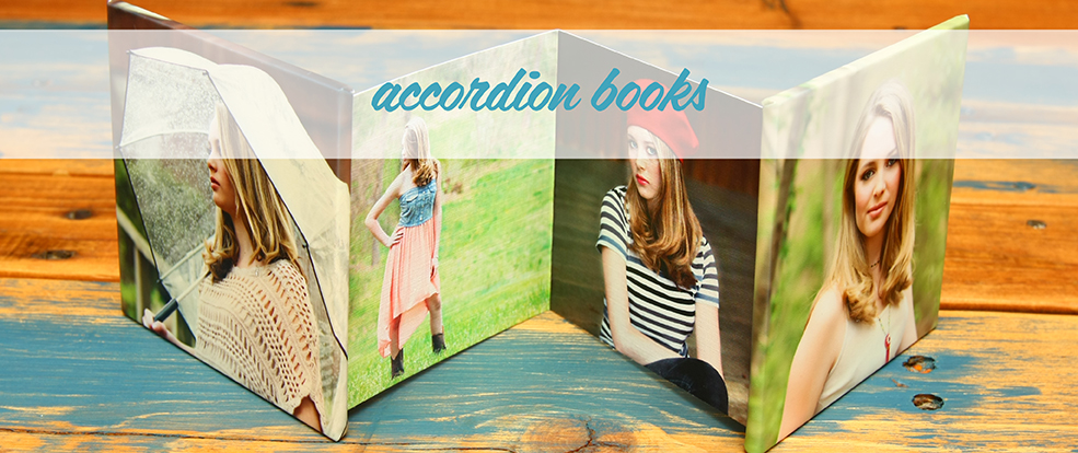 Custom Accordion Books