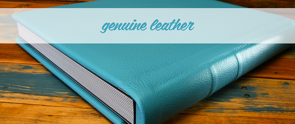 Showcase Pictures of Genuine Leather Photo Albums