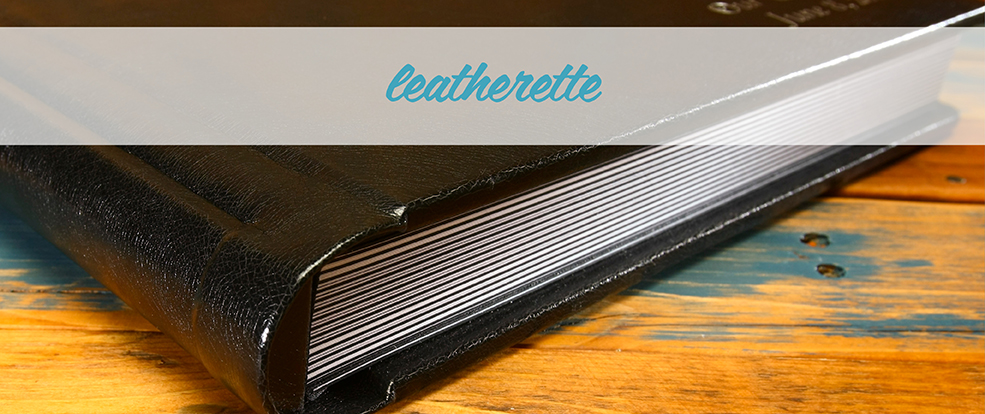 Leatherette Photo Albums Display Image