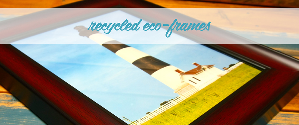 Recycled Eco Friendly Photo Frames