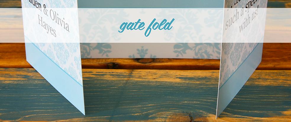 Gate Fold Cards