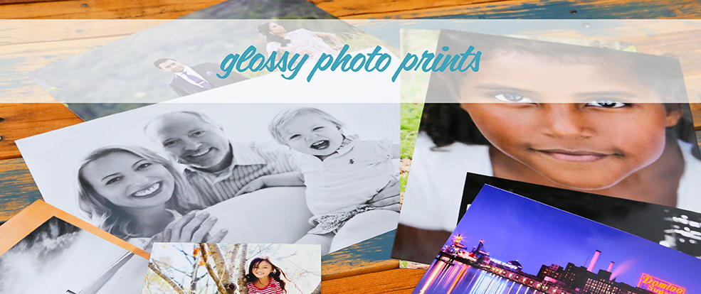 Professional Prints with Glossy Finish
