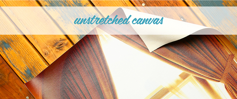 Canvas Photo Printing (Unstretched)