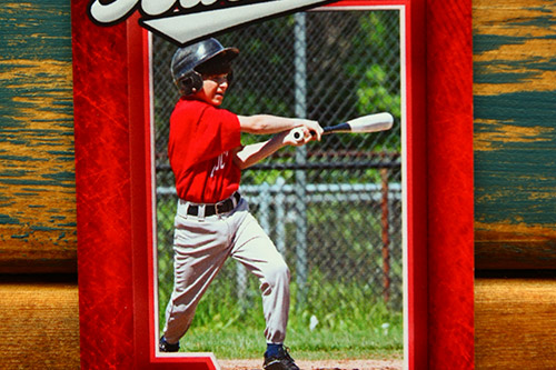 custom baseball cards