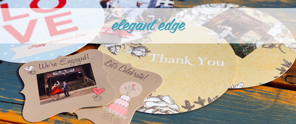 Elegant Edge Cards (Fun & Unique)
