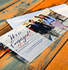photo engagement cards