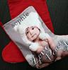custom photo stockings small