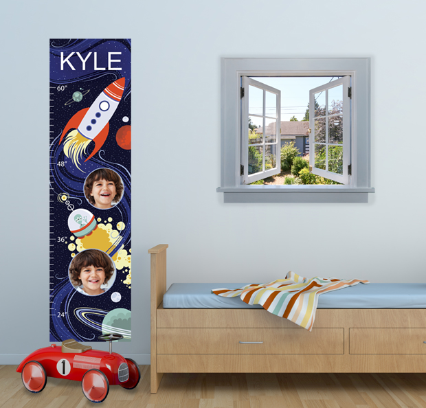 Boy's Room Growth Chart