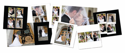 photo album design and layout