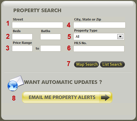 Search for property in Auburn for sale