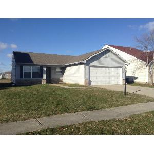 Greenwood 3 bedroom 2 Bath with a 2 car attached garage!