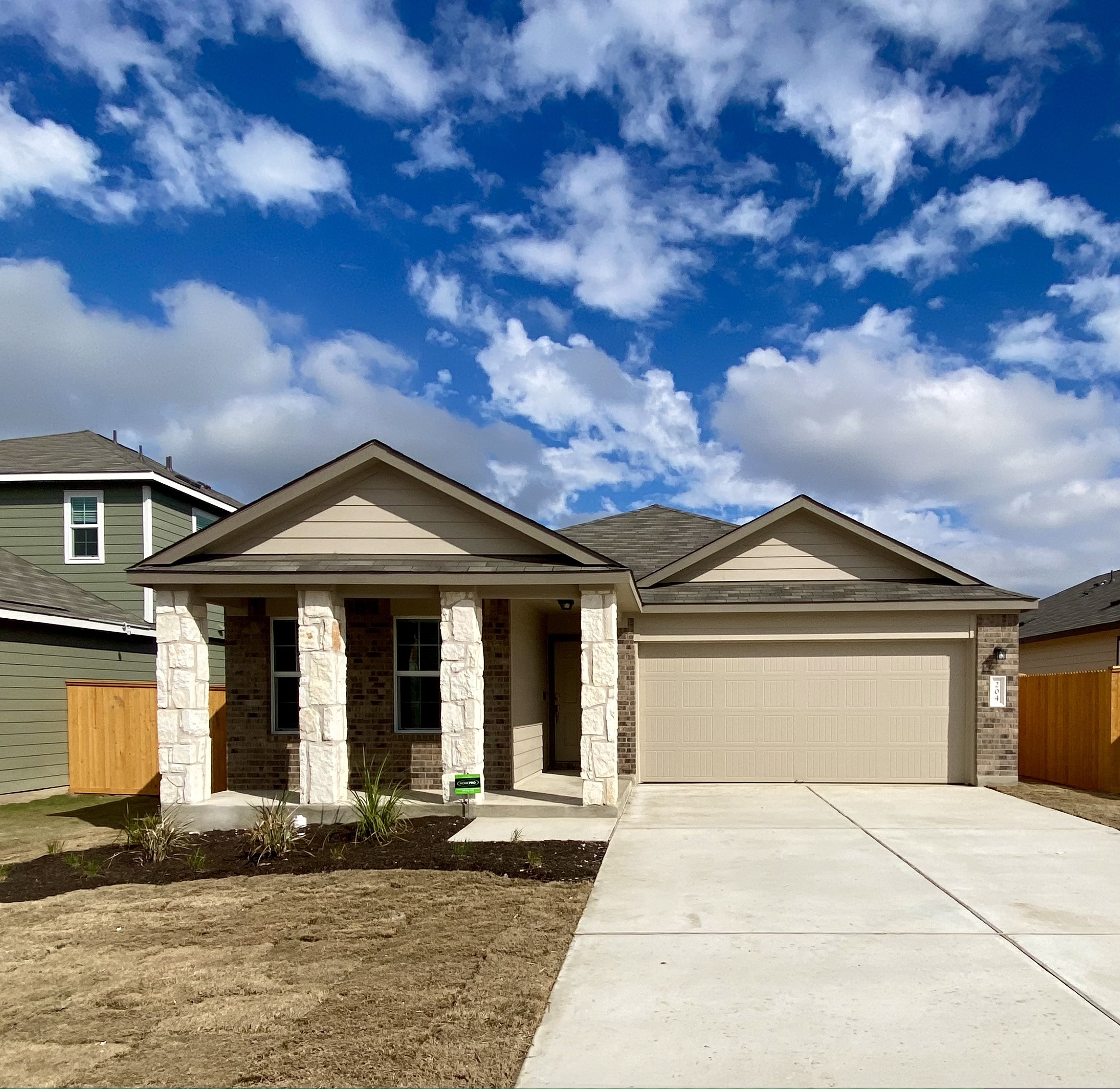 Brand New 3 bedroom 2 bath home in Bailey Park