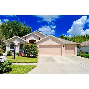Meadow Pointe 4/2 with fenced yard & screened lanai