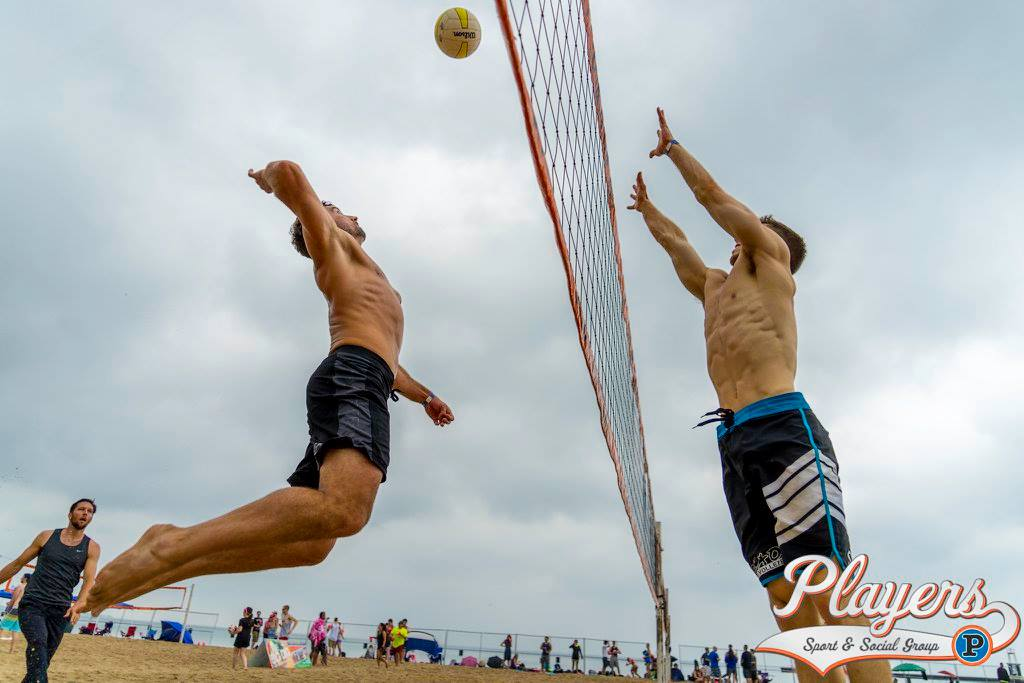 Beach Slap Party & Volleyball Tournament: Players Sport