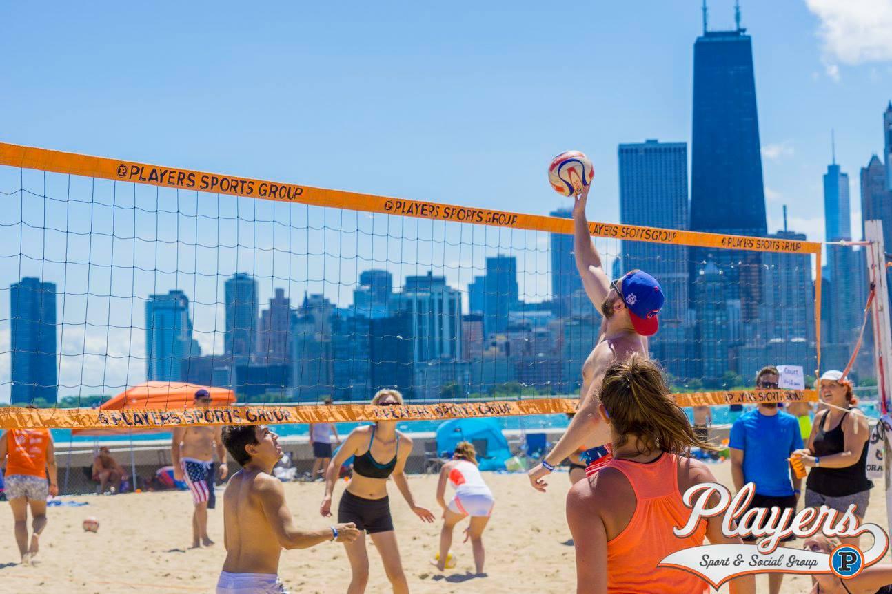 Big Dig Beach Volleyball Tournament: Players Sport & Social