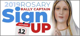 2019 Rally Captain Sign up