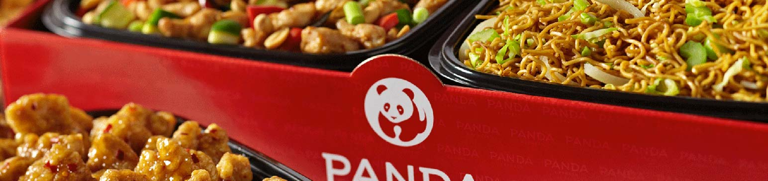 Panda Express catering box