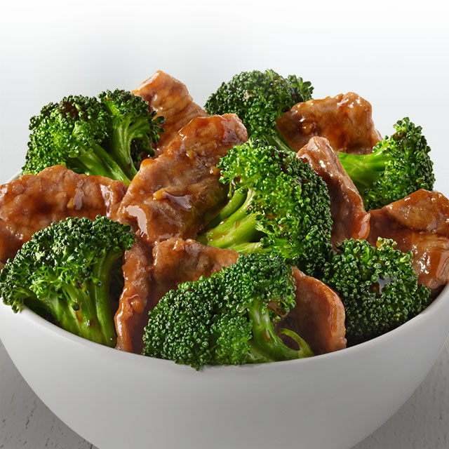 A classic favorite. Tender beef and fresh broccoli in a ginger soy sauce.
