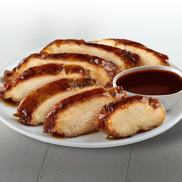 "<p class=""p1"">Grilled chicken thigh hand-sliced to order and served with teriyaki sauce. Availability of Grilled Teriyaki Chicken may vary by location. View our Nutrition PDF for details.</p>"