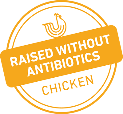 Chicken raised without antibiotics