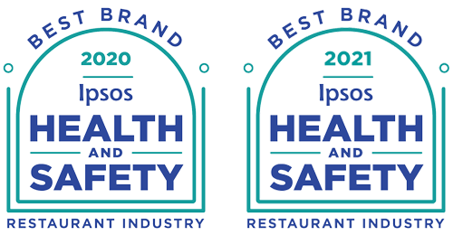 IPSOS 2020 and 2021 - Health and Safety - Best Brand - Restaurant Industry