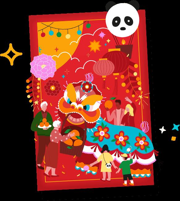 Panda LNY Red Envelope