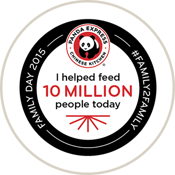 Family Day logo - I help feed 1 million people today