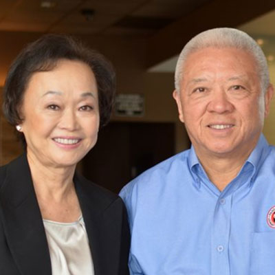 Peggy and Andrew Cherng