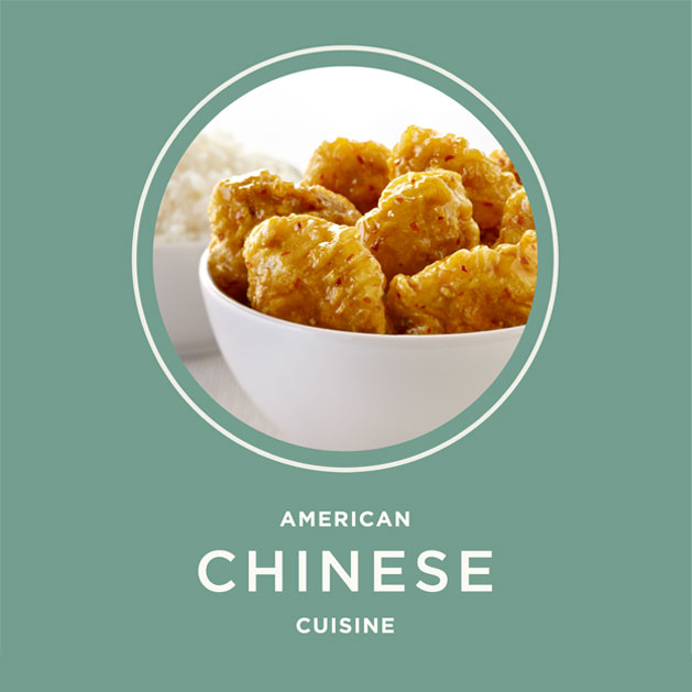 American Chinese cuisine