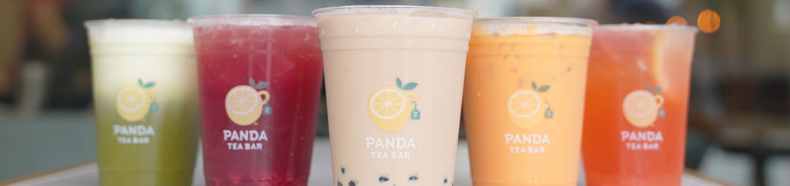 Panda Express Tea Bar drinks